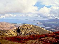 l'alpinisme au Mount Brandon